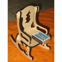 Laser Cut Doll Chair 6mm Free DXF File