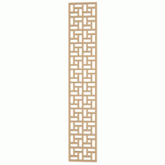 Lattice Geometric Pattern Free DXF File