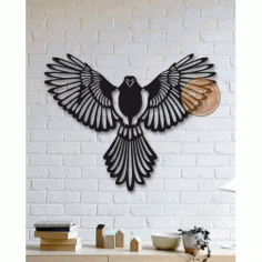 Wall Panel Bird Free DXF File
