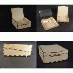 Stackbox Wedge Free DXF File