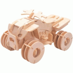 All Terrain Vehicle Free DXF File