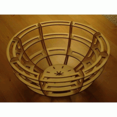 Bowl 3mm Free DXF File