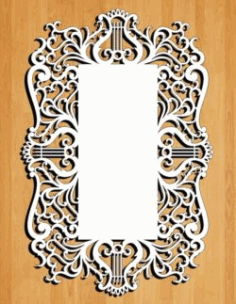 8 March Greeting Card Download For Laser Cut Free DXF File