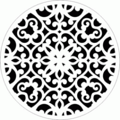 Decorative Motifs Circle k62 Download For Laser Cut Free DXF File