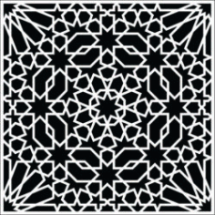 Pattern Of Square Texture Download For Laser Cut Free DXF File