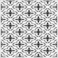 Square Decoration ek18 Download For Laser Cut Cnc Free CDR Vectors Art