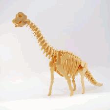 Brachiosaurus 3d Puzzle Free DXF File