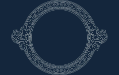 Cool Circle Frame Free DXF File