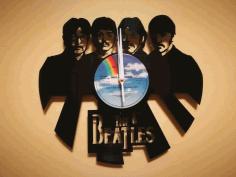 Orologio Vinile Lp Beatles Clock Free DXF File