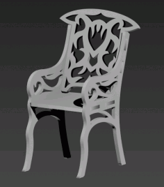 Stul Chair Free DXF File
