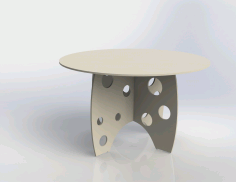 Table Free DXF File