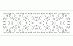 10 Kollu güneş ruası Free DXF File