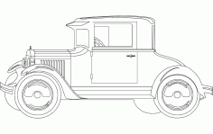20 Ford 3 Free DXF File
