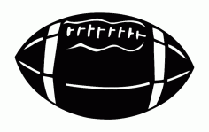 Football 2 Free DXF File