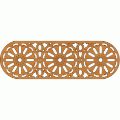 Laser Cut Pattern Design Cnc 151  Free DXF File