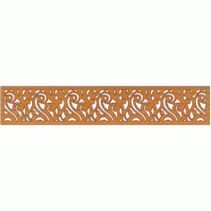 Laser Cut Pattern Design Cnc 148  Free DXF File