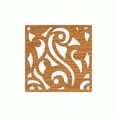 Laser Cut Pattern Design Cnc 127  Free DXF File