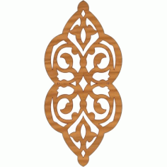 Laser Cut Pattern Design Cnc 125  Free DXF File