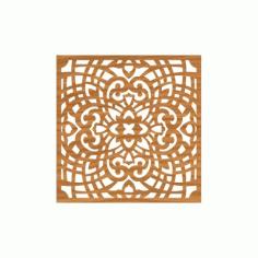 Laser Cut Pattern Design Cnc 120  Free DXF File