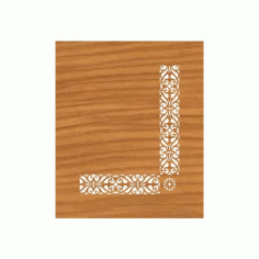 Laser Cut Pattern Design Cnc 110  Free DXF File