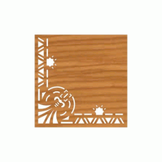 Laser Cut Pattern Design Cnc 105  Free DXF File