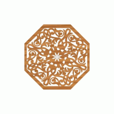 Laser Cut Pattern Design Cnc 100  Free DXF File