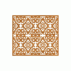 Laser Cut Pattern Design Cnc 93  Free DXF File