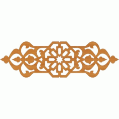 Laser Cut Pattern Design Cnc 81  Free DXF File