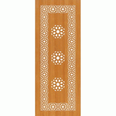 Laser Cut Pattern Design Cnc 78  Free DXF File