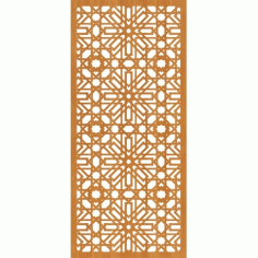 Laser Cut Pattern Design Cnc 55  Free DXF File