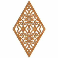 Laser Cut Pattern Design Cnc 53  Free DXF File