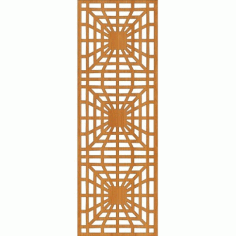 Laser Cut Pattern Design Cnc 17  Free DXF File