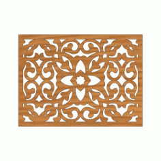 Laser Cut Pattern Design Cnc 10  Free DXF File