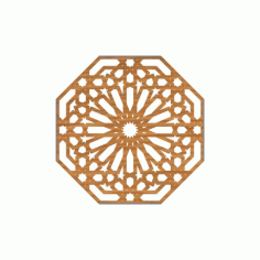 Laser Cut Pattern Design Cnc 6  Free DXF File