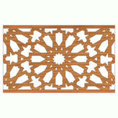 Laser Cut Pattern Design Cnc 1  Free DXF File