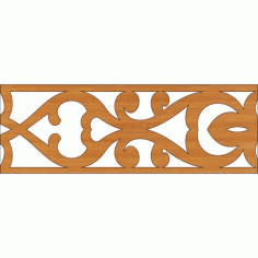 Laser Cut Pattern Design Cnc 338 Free DXF File
