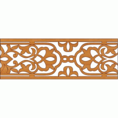 Laser Cut Pattern Design Cnc 334 Free DXF File