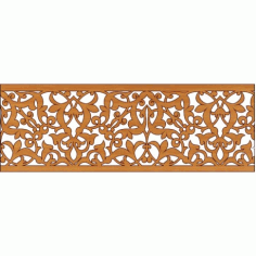 Laser Cut Pattern Design Cnc 327 Free DXF File