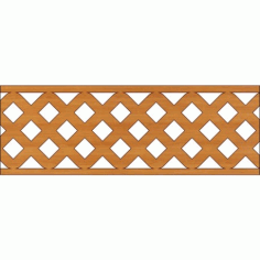 Laser Cut Pattern Design Cnc 326 Free DXF File