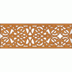 Laser Cut Pattern Design Cnc 324 Free DXF File