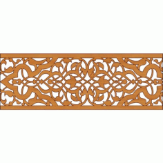 Laser Cut Pattern Design Cnc 321 Free DXF File
