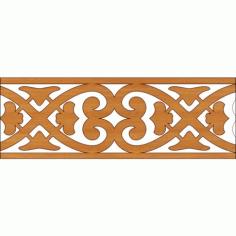 Laser Cut Pattern Design Cnc 317 Free DXF File