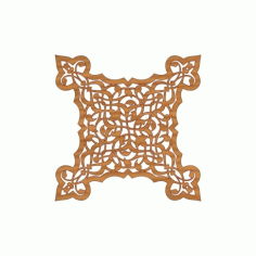 Laser Cut Pattern Design Cnc 300 Free DXF File