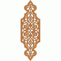 Laser Cut Pattern Design Cnc 298 Free DXF File