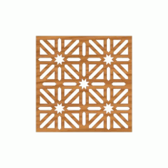 Laser Cut Pattern Design Cnc 263 Free DXF File