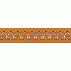 Laser Cut Pattern Design Cnc 256 Free DXF File