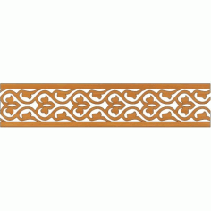 Laser Cut Pattern Design Cnc 251 Free DXF File
