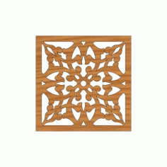 Laser Cut Pattern Design Cnc 250 Free DXF File