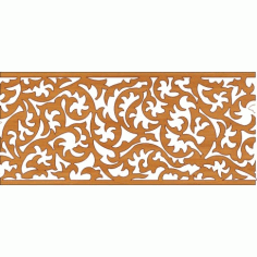 Laser Cut Pattern Design Cnc 240 Free DXF File