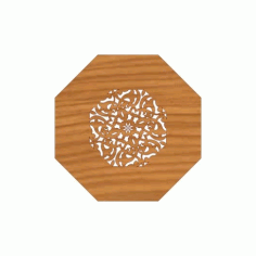 Laser Cut Pattern Design Cnc 236 Free DXF File